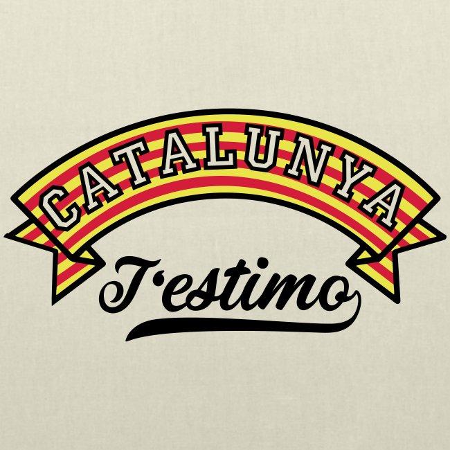 Samarretes Catalunya - Catalunya T'estimo