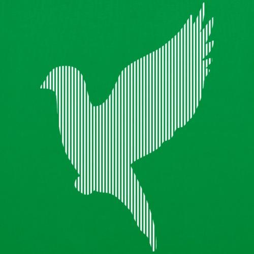 LINE BIRD 012w - Tas van stof