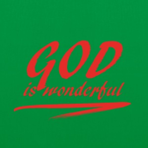 God_is_wonderful - Tygväska