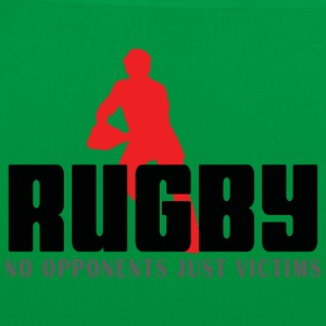 Rugby No Opponents Just Victims - Tote Bag