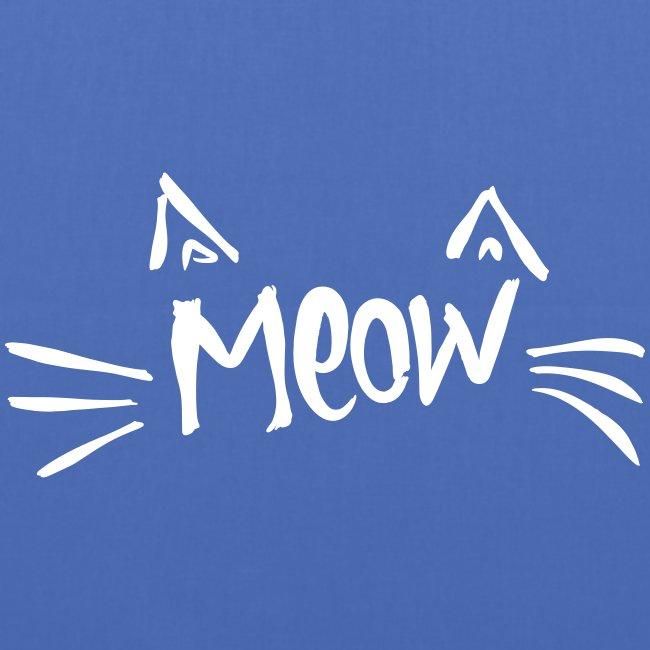 Vorschau: meow2 - Stoffbeutel