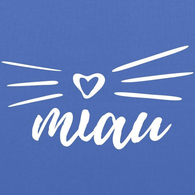 Vorschau: miau - Stoffbeutel