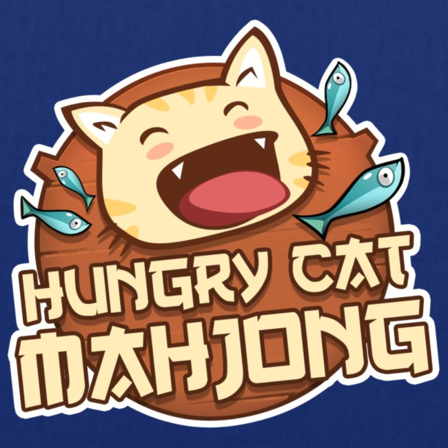 Hungry Cat Mahjong Title png