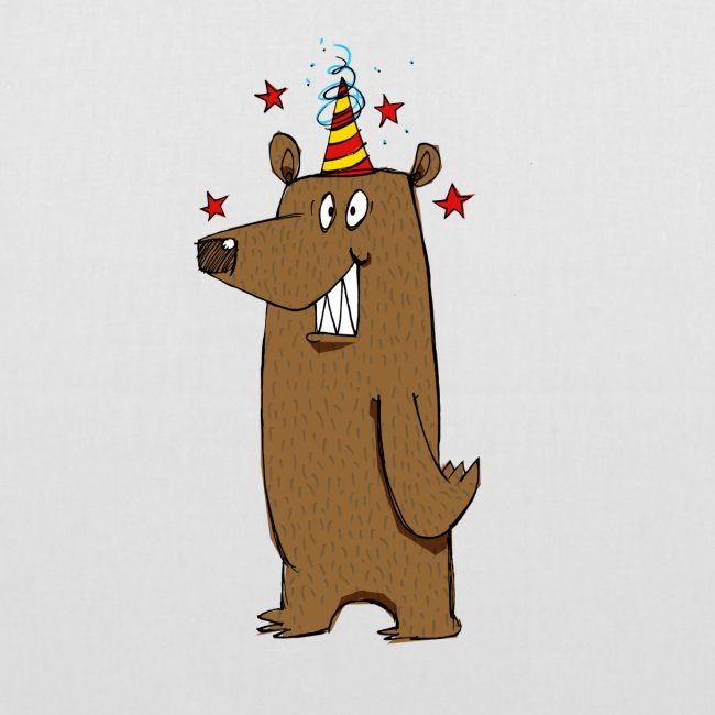 Party Bear Love Friday weekend fun Bear