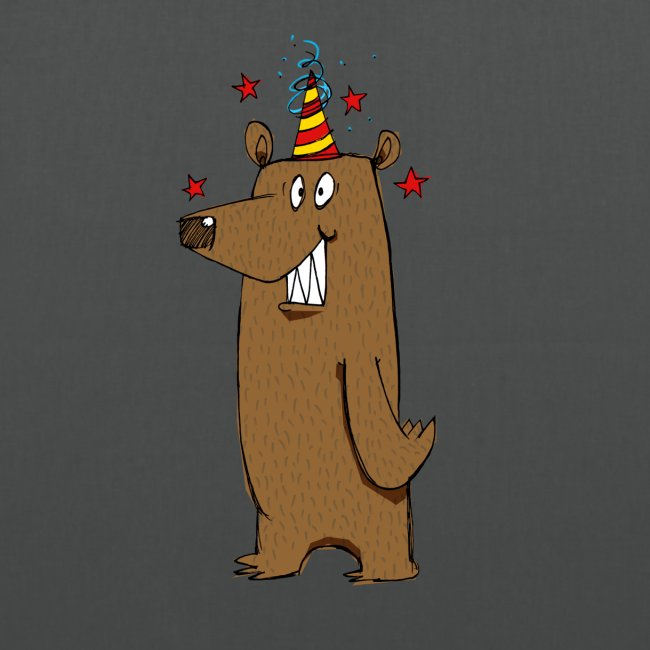 Party Bear Love Friday weekend fun Bear