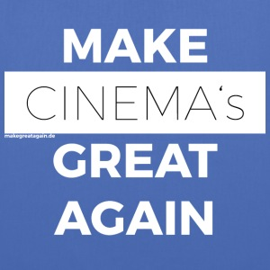 MAKE CINEMAS GREAT AGAIN white - Tote Bag