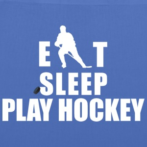 Hockey Eat Sleep Hockey gioco - Borsa di stoffa