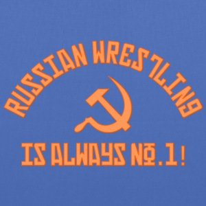 Russian Wrestling No.1 - Tote Bag