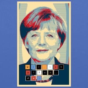 Angela Merkel in Hope design we-make-the - Tote Bag