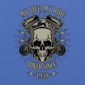 Gift for Biker - Year 1959 - Tote Bag