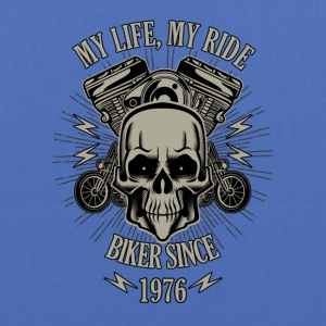 Gift for Biker - Year 1976 - Tote Bag