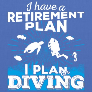 Retirement plan diving (light) - Tote Bag