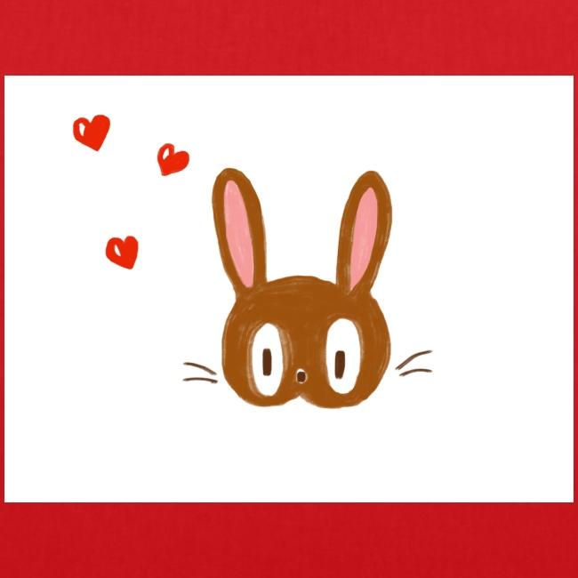 Le lapin amoureux