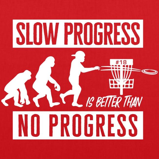 Disc golf - Slow progress - White