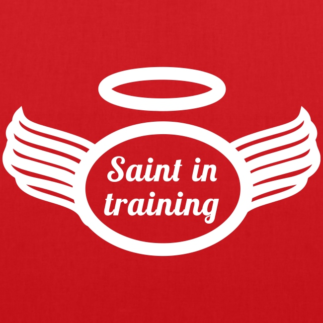 SAINT IN TRAINING