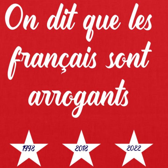 Français arrogants