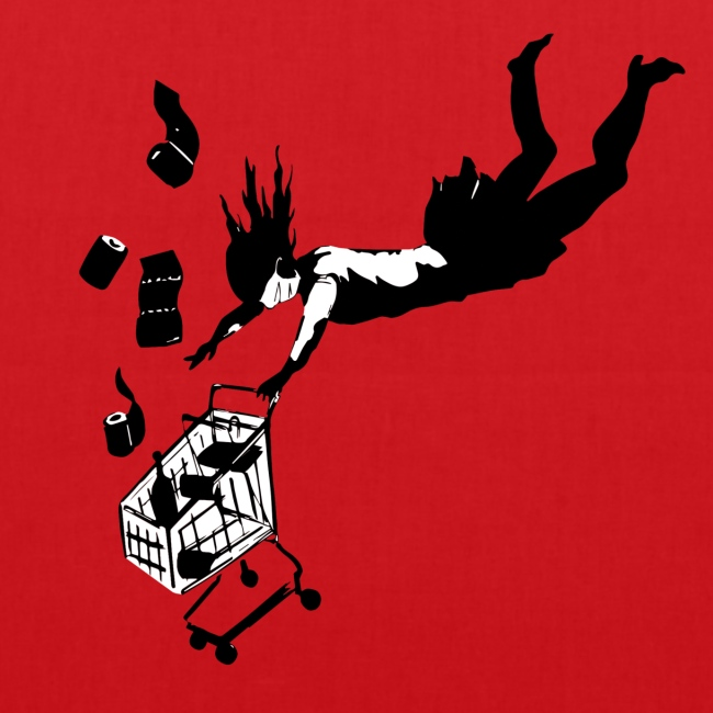Covid-19 shopping cart (utan text)