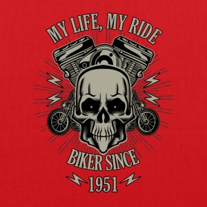 Gift for Biker - Year 1951 - Tote Bag