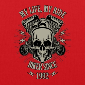 Gift for Biker - Year 1992 - Tote Bag