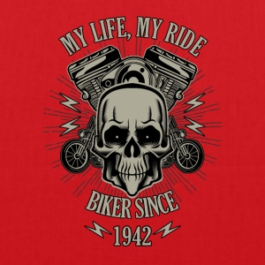 Gift for Biker - Year 1942 - Tote Bag