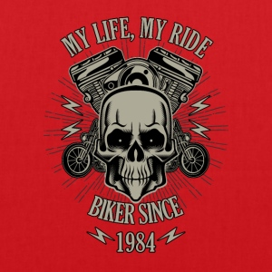 Gift for Biker - Year 1984 - Tote Bag