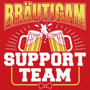 Brudgummen Support Team - Tygväska