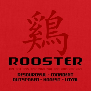 Year of The Rooster - Stoffveske
