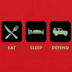 Eat, Sleep & Defend - Tote Bag