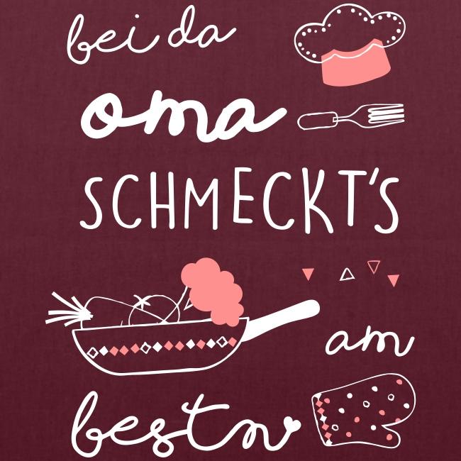 Vorschau: Bei da Oma schmeckts am bestn - Stoffbeutel