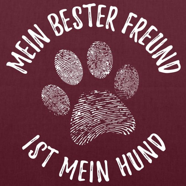 Vorschau: Mein Hund Bester Feund - Stoffbeutel