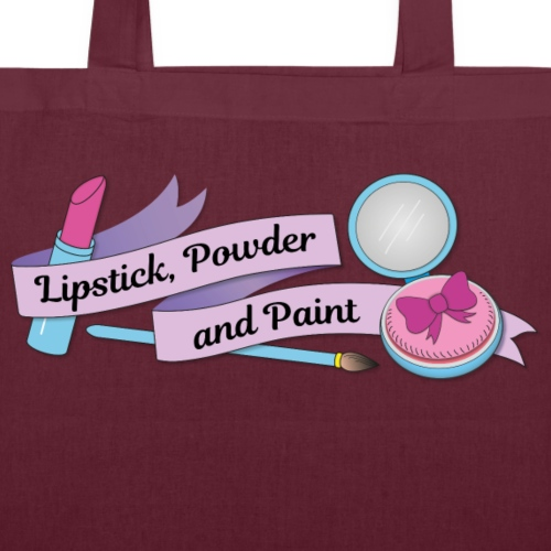 Lipstick Powder and Paint - Tote Bag