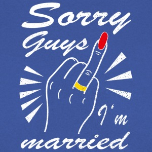 Sorry guys I'm married - Männer Pullover