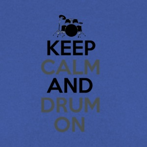 Keep Calm and Drum On - Drummer Passion - Men's Sweatshirt