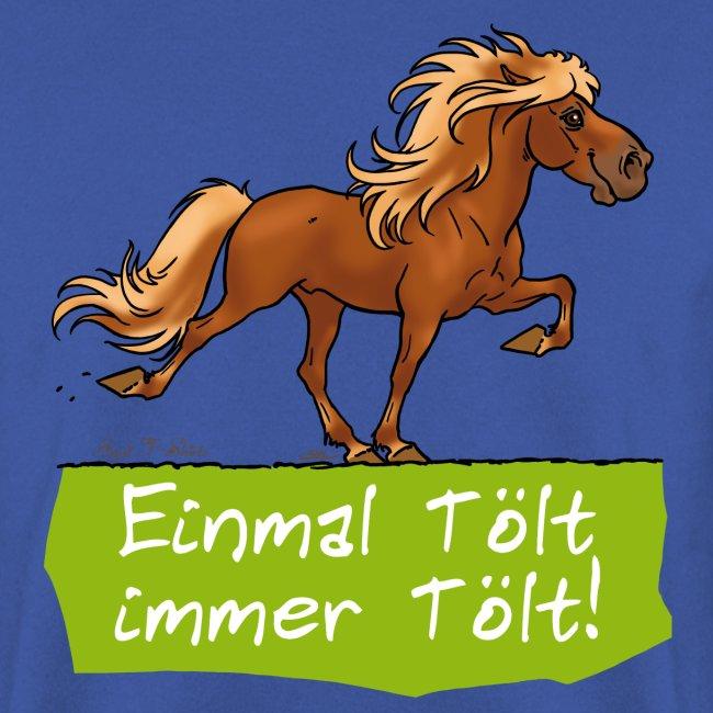 """Island Pferd """"Tölt"""""""