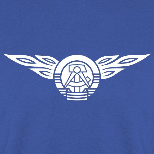 GDR flames crest 1c