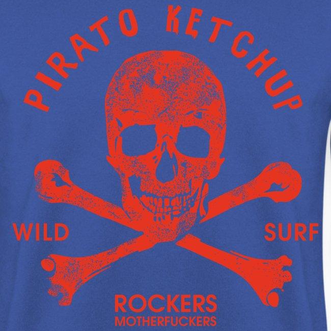 Pirato Ketchup Red Skull