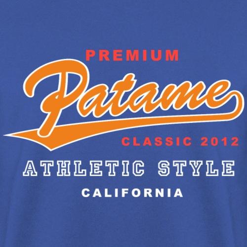 Patame Athletic Style Orange - Männer Pullover
