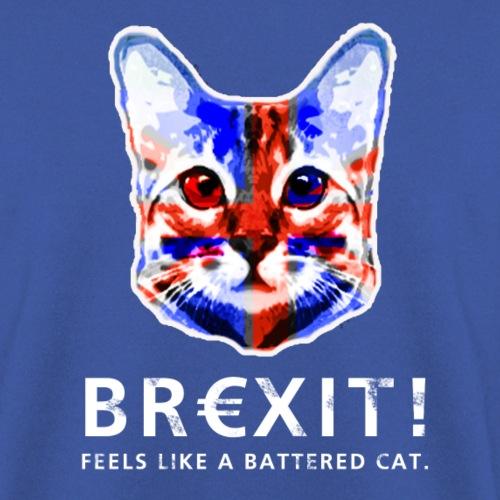Brexit Cat Katze England Großbritanien UK - Unisex Pullover