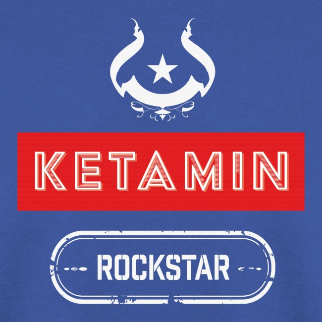 KETAMIN Rock Star - Weiß/Rot - Modern