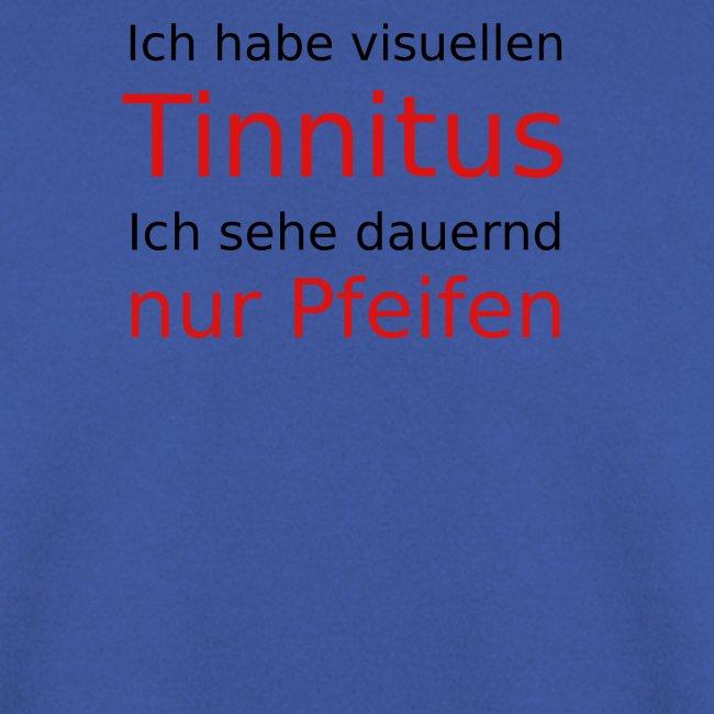 visuellen Tinnitus