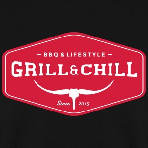 Grill and Chill / BBQ en Lifestyle Origin Logo - Mannen sweater