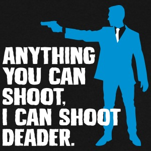 I can shoot deader - gun - Männer Pullover