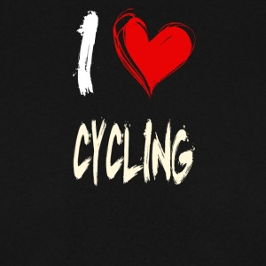 I love cycling - Men's Sweatshirt