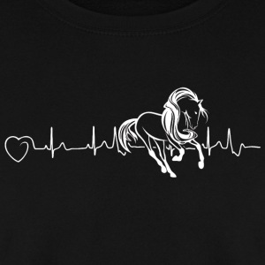 Horses are my heartbeat - Men's Sweatshirt