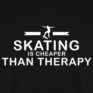 Skating er billigere end behandling - Herre sweater