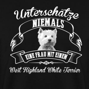West Highland White Terrier - Männer Pullover