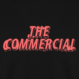 The Commercial Design #1 (Salmon - Men's Sweatshirt