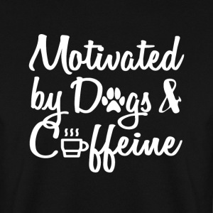 attract only by dogs and caffeine - Men's Sweatshirt