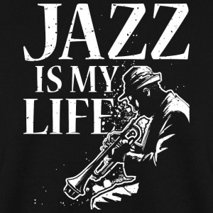 I love jazz - Men's Sweatshirt