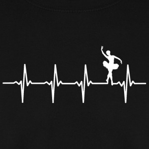 Your heart beats for ballet? - Men's Sweatshirt